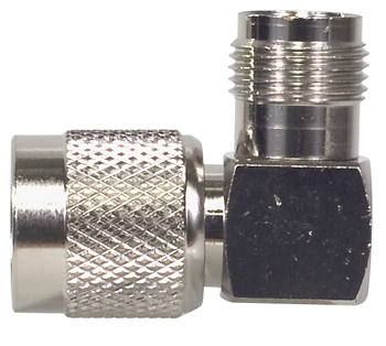 RIGHT ANGLE/TNC MALE TO TNC FEMALE CONNECTOR