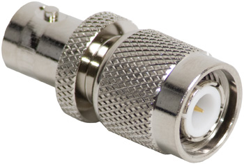 TNC MALE TO BNC FEMALE STRAIGHT CONNECTOR