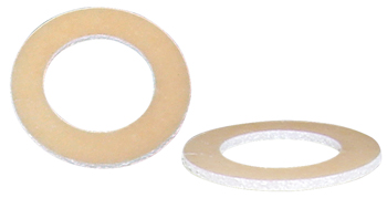 Rigid Plastic Washer | 5/8in I.D, 3/8in I.D., Brown