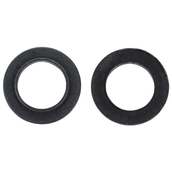 Insulated Shoulder Washer   5/8in, Round, Swedged