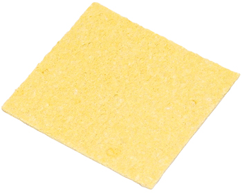 SPONGE/For use with iron stands, no holes, dimensions: 4.65L x 39W x 1.49H