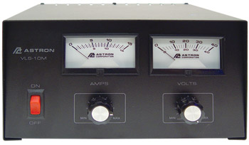 VLS-10M Power Supply | Variable 28VDC, 10A, With Meters