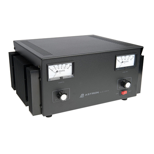VLS-25M Power Supply | Variable, 28VDC, 25A, With Meters