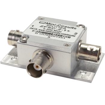 Coaxial Power Splitter/Combiner | BNC with Bracket