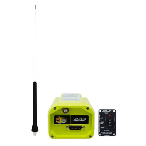 ELT 345 Standard Kit | 23in Whip Antenna, Standard Remote Switch