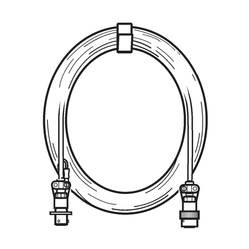Tachometer Cable | 25ft, For 2020HR ProBalancer Analyzer