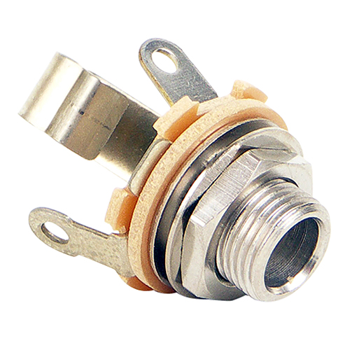 .206-inch Open Frame Jack | 3-Conductor, .210in I.D., Stereo