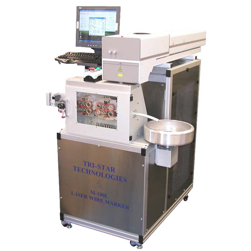 Tabletop Laser Wire Marking System